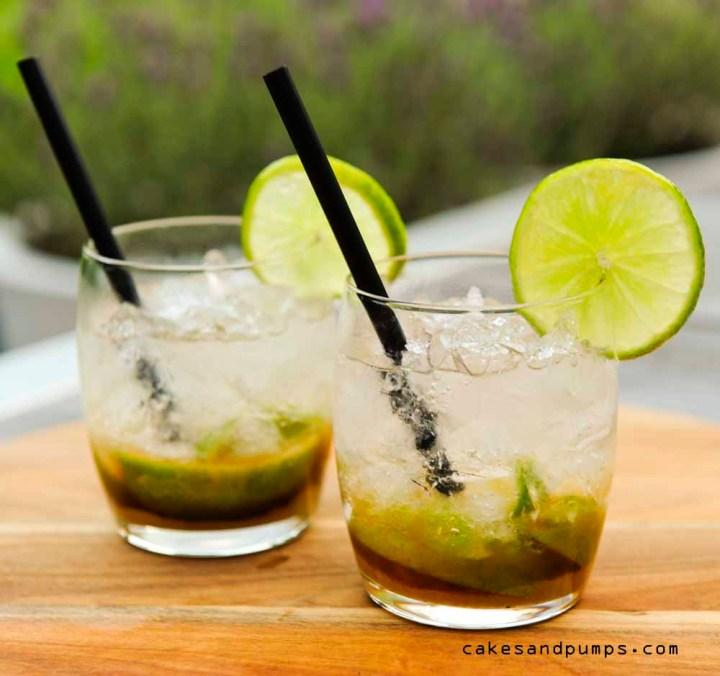 Cocktail friday met caipirinha