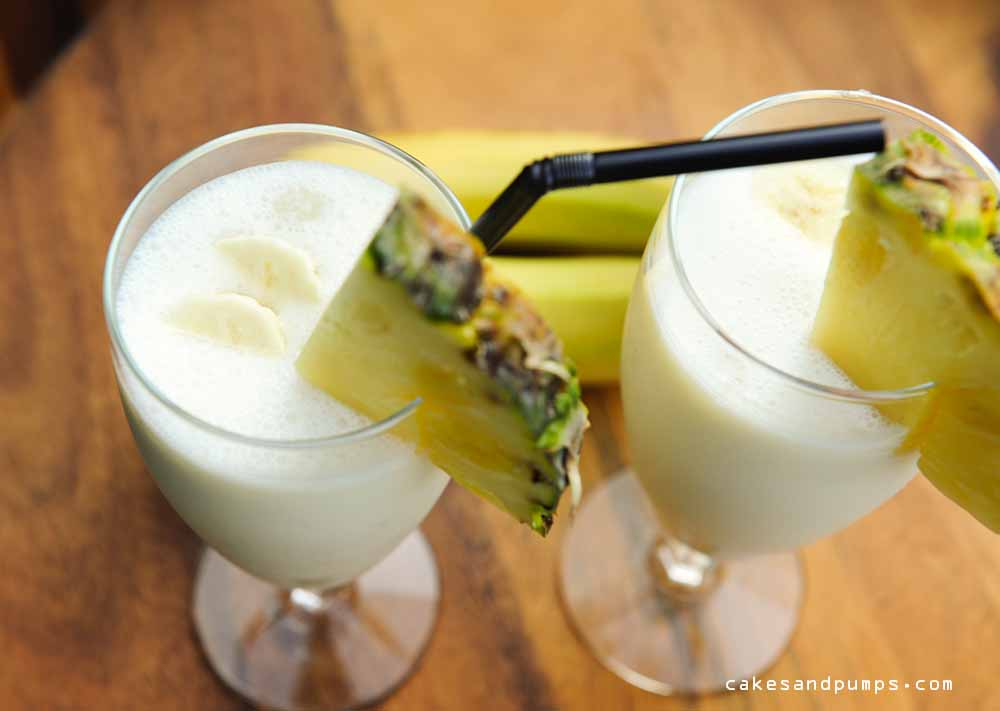 For Cocktail Friday a Batida de Banana Coco
