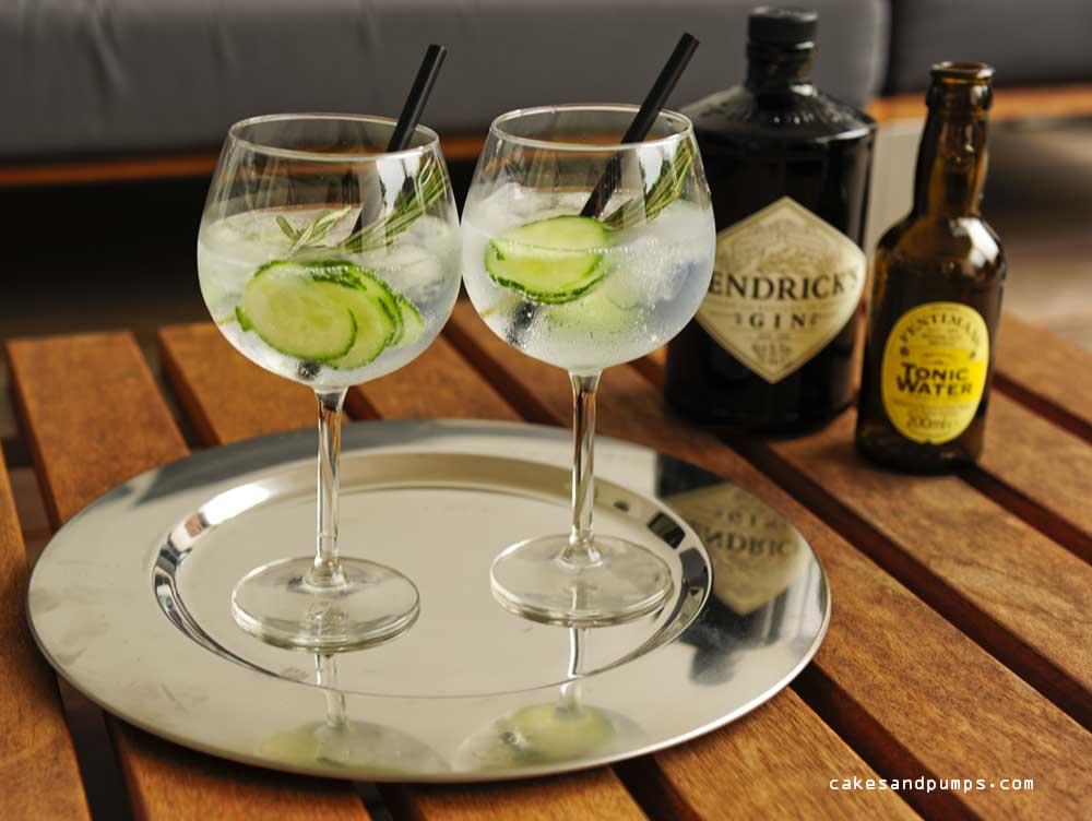 Hendricks gin tonic with fentimans