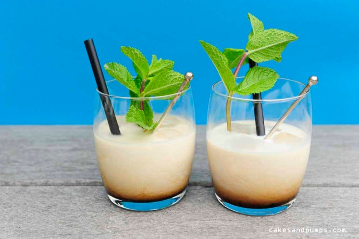 White Russian Cocktail stirred