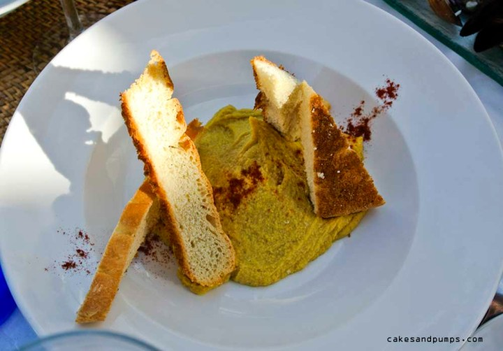 Humus bij Restaurant Elements Ibiza