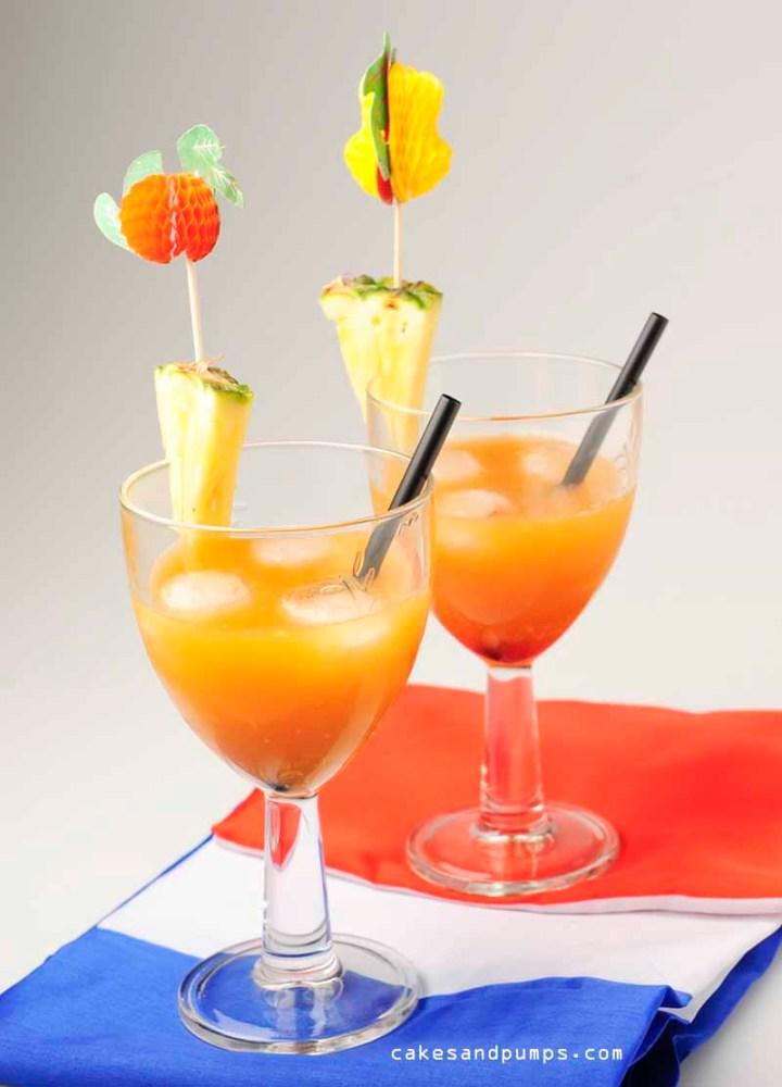 Orange plantation Cocktail for Cocktail friday
