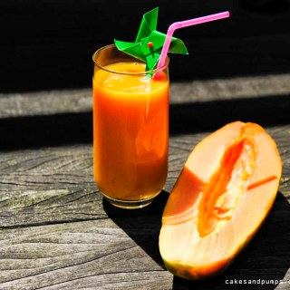 Sunday Smoothie: Papaya banana