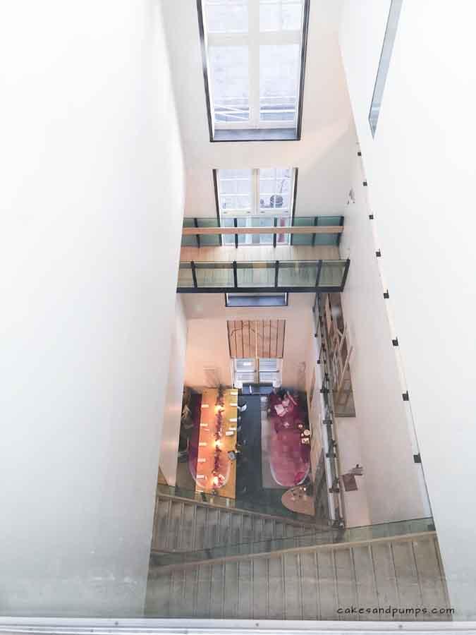 Lloyd hotel doorkijkje 6de verdieping