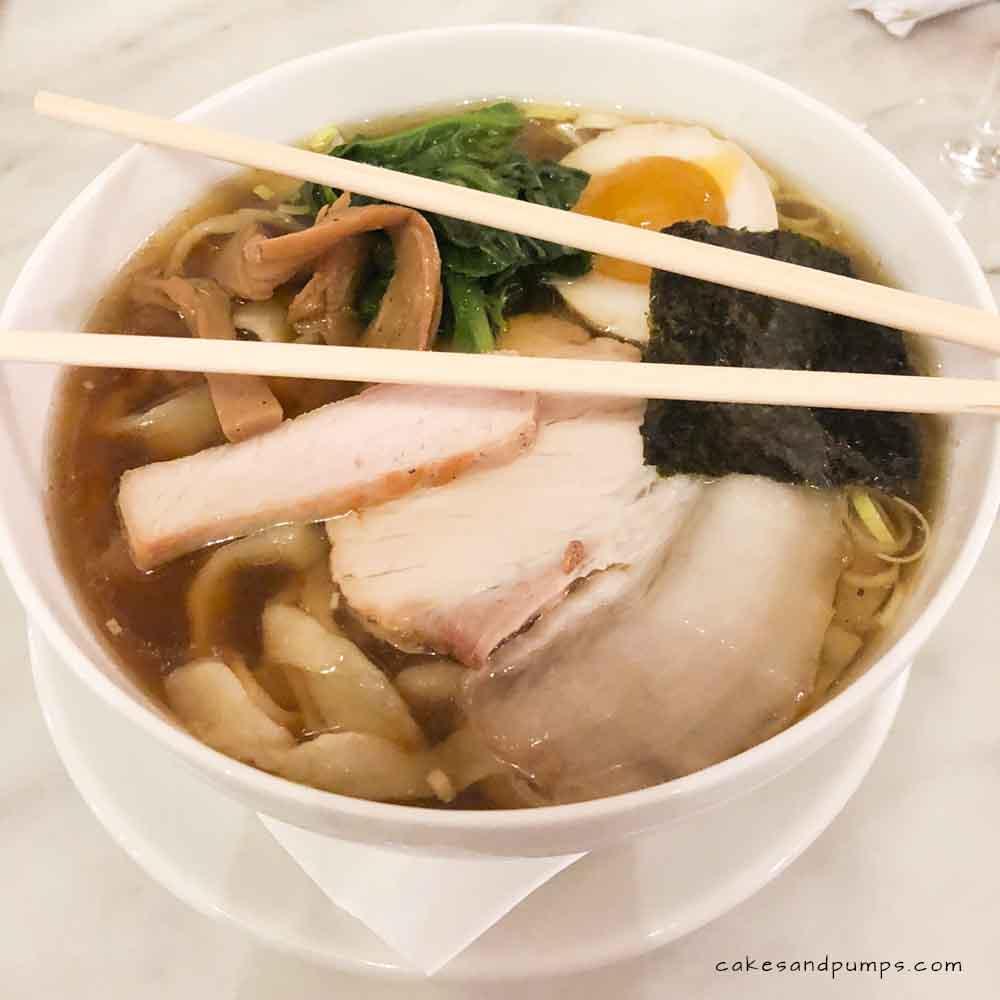 Ramen soup at Mono Japan 2018