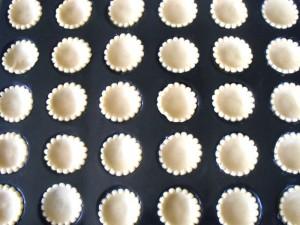 mini tartelettes aux fruits recette