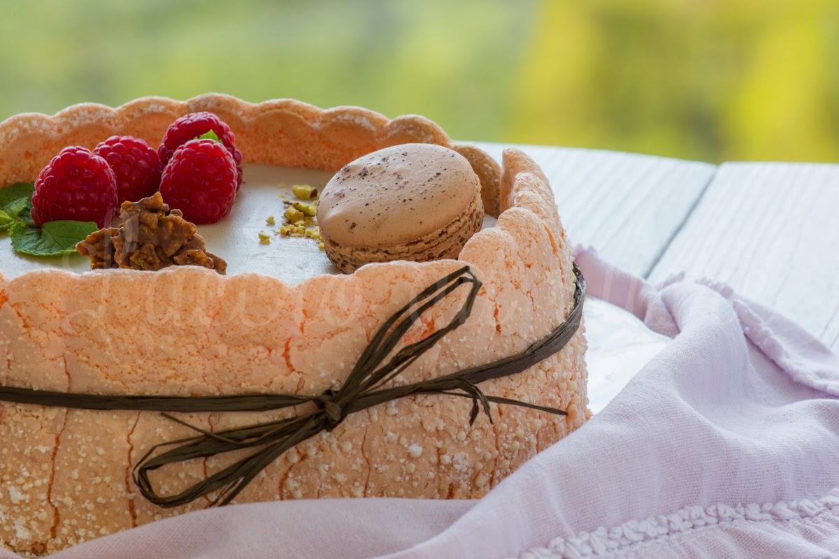Charlotte Framboises Chocolat CakesandSweetsfr
