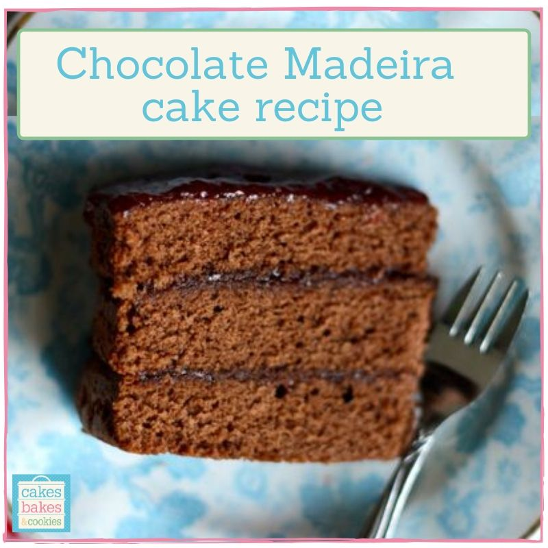 Chocolate Madeira Cake Recipe For Different Sized Round Cake Tins