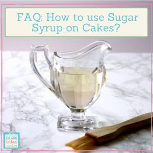 sugar syrup recipe