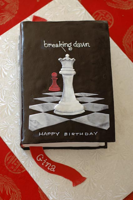 Breaking Dawn cake