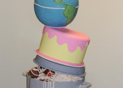 A Cooking, Baking, Travelling Retirement Cake