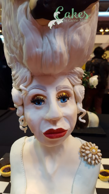 Close Up Competition Entry Marie Antoinette Cake CI Birmingham 2016