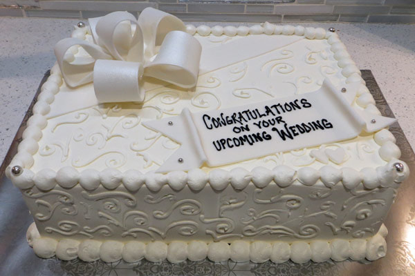 Bridal Shower Cakes   Silver Spring  MD   Cakes by Chris Furin Bridal Shower Cakes
