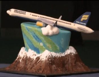 Airplane Cake Icelandair