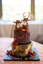 Groom's cake portland or, camoflage cake, camo cake