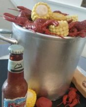 Crawfish Boil/Beer Groom's Cake