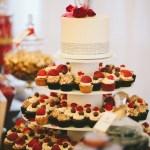 wedding cupcakes portland or, fruit cupcakes, elegant cupcake display, dessert table portland or