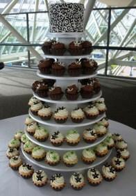 Flower Wedding Cupcakes
