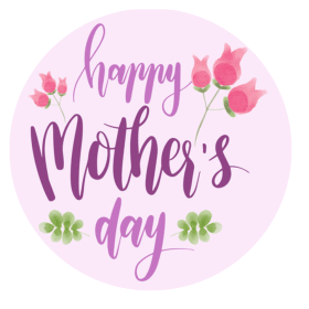 Mothers Day Edible Cake Toppers