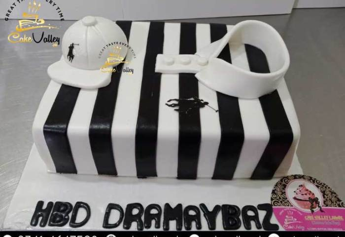 Polo Shirt Theme Cake Online Cake Order And Delivery In Lahore
