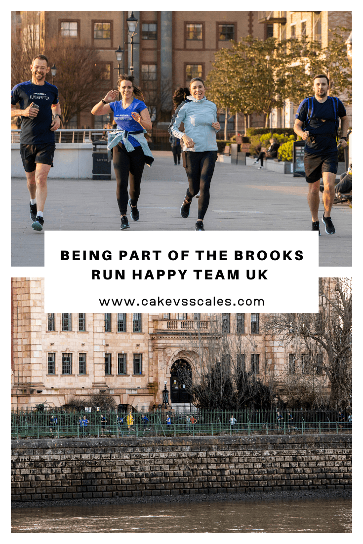 Being Part Of The Brooks Run Happy Team UK