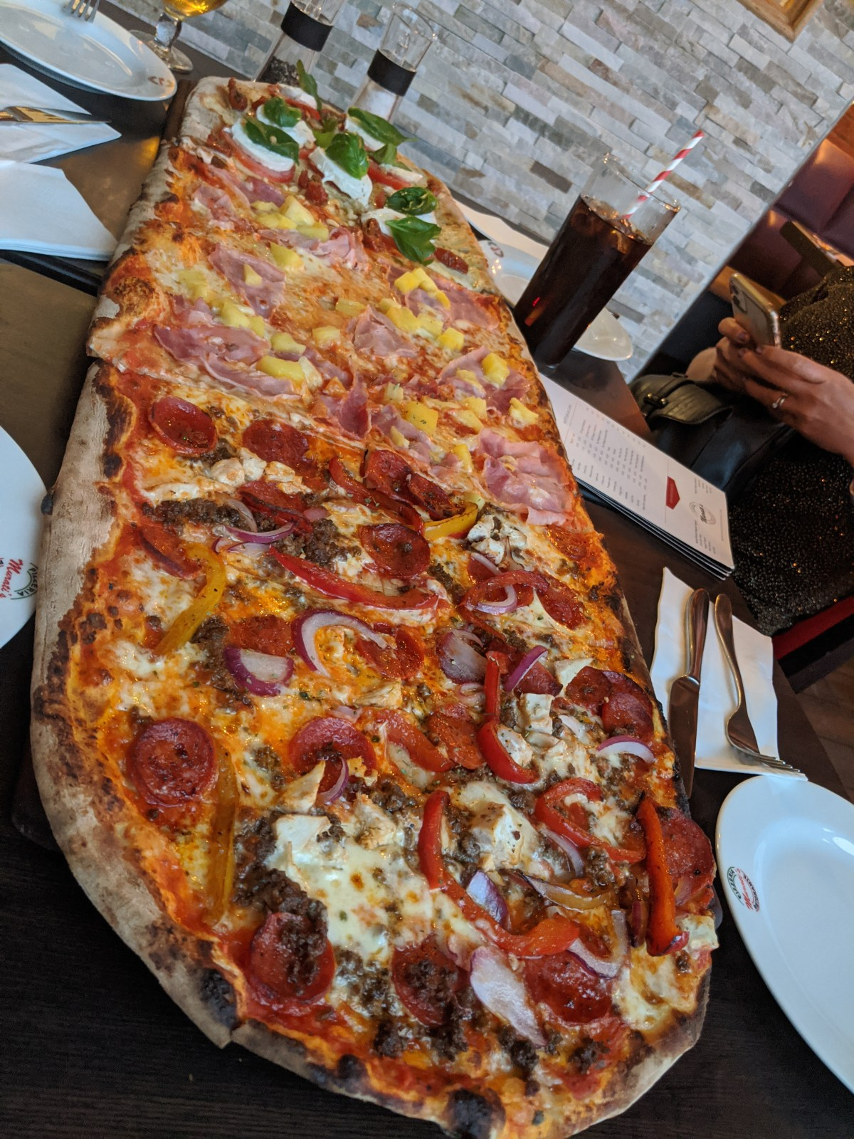 1 Metre of pizza - Murtati's pizza