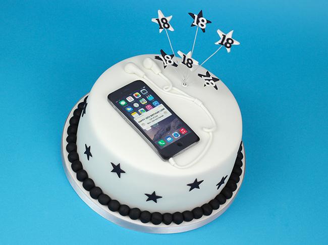 Iphone 6 18th Birthday Cake Cakey Goodness