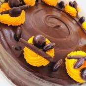 Chocolate Orange Pearl Cake