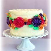 Victoria Stripy Cake