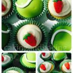 Wimbledon Tennis Cupcakes