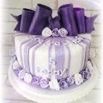 Cadbury Purple Bow Cake