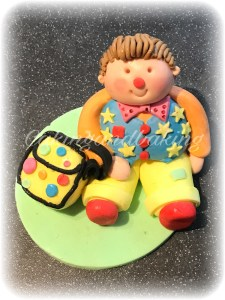 Mr Tumble Fondant Cake Topper
