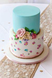 Cath Kidston Inspired Hand Painted Cake