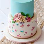 Cath Kidston Inspired Hand Painted Cake