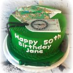 Orienteering Cake