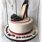 Studded Stiletto Cake