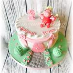 Peppa Pig Fairy Castle Cake