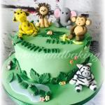 Jungle Animals Cake