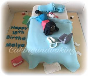 Messy Bed Bagpuss Cake