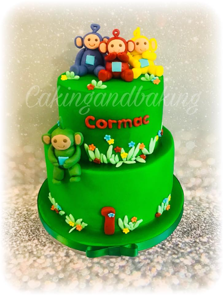 Awesome Teletubbies Birthday Cake Caking And Baking Leamington Spa Birthday Cards Printable Nowaargucafe Filternl