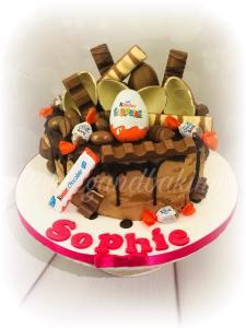 Kinder Chocolate Overload Cake