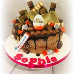Kinder Chocolate Overload Cake