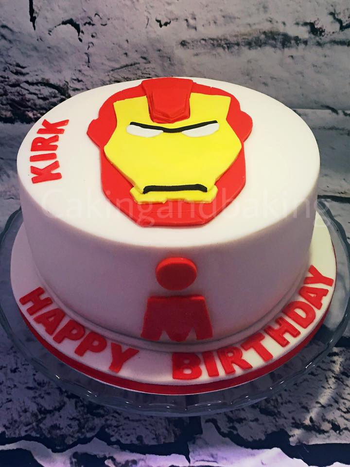 Awe Inspiring Iron Man Birthday Cake Caking And Baking Leamington Spa Funny Birthday Cards Online Inifofree Goldxyz