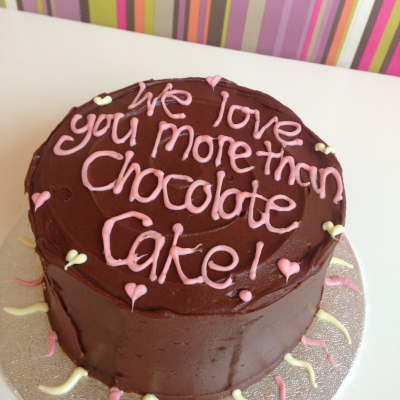 Classic Mother's Day Chocolate Cake