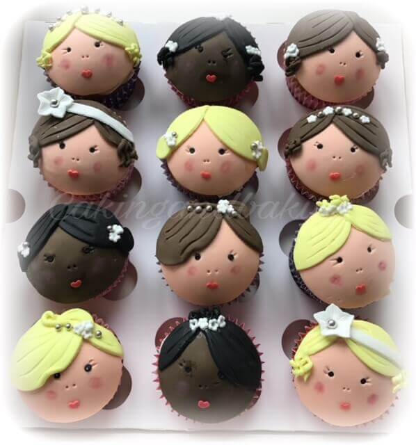 Beautiful Brides Cupcakes