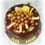 Chocolate Bath Cake