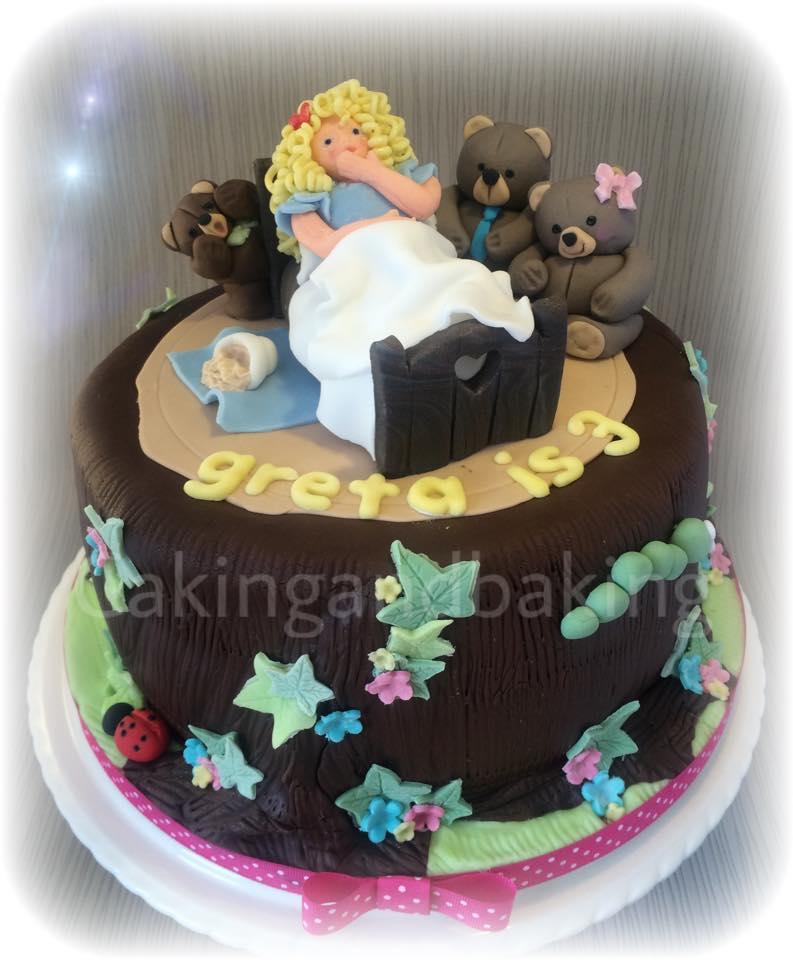 Cool Goldilocks Cake Caking And Baking Leamington Spa Warwickshire Funny Birthday Cards Online Alyptdamsfinfo