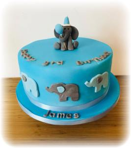 Elephant Birthday Cake Caking And Baking Sweet As Leamington