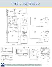 Litchfield Floor Plan at Calabash Lakes
