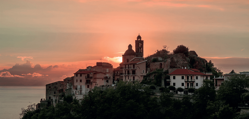 Belmonte Calabro Old Town
